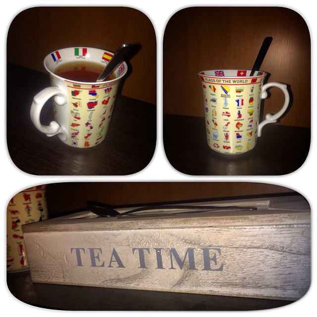 ☕☕ Good morning) ☕☕ I have a wonderful cup to drink tea and to study geography)